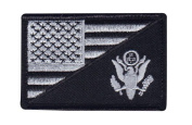 US ARMY USA Flag Embroidered 3 X 2 Morale Patch
