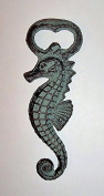 ABC Products - Heavy Cast Iron - Seahorse Bottle Opener - Hand Hold, With Large Body For Easy Holding -