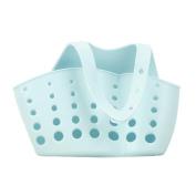 Anshinto Portable Home Kitchen Hanging Drain Bag Basket Bath Storage Sink Holder