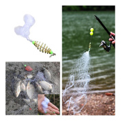 VENMO New Outdoor Shoal Fishing Hook Net Design Spring Summer Camping Fishing Cast Net Trap Fishing Tackle Accesories