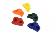 25 Kids Rock Climbing Holds - with Mounting Hardware for up to 2.5cm Installation