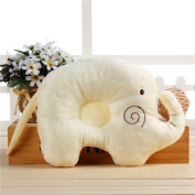 Kenmont Elephant Sleep Pillow Head Positioner Pillows Plush Pillows for Newborn Baby Infant, 1 Months~1 Year