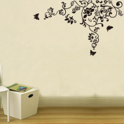 ZXYU Wall Stickers Can Move Large Extravagant Pattern Study Kitchen Bedroom TV