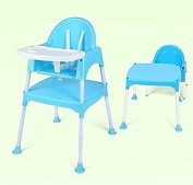 SZFMMY ® Deluxe 3 in 1 Modern Multifunctional Baby High Chair feeding seat Harness Play Table study desk