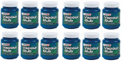 PAJEE™ 12 x Masterplast 113g Vapour Rub For Clear Breathing Help Menthol Eucalyptus NEW