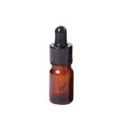 5ml-100ml Mini Amber Glass Liquid Reagent Pipette Bottle Eye Dropper Empty