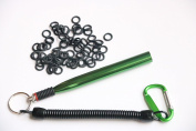Wacky Worm Rig Tool OR Wacky O-Rings For Wacky Rigging Plastic Senko Style Worms & Stick Soft Baits