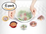 Silicon Stretch Food Cover Wraps Reusable Silicone Food WrapsSeal Vacuum Food Magic Wrap Multifunctional Cling Film Food Fresh Kitchen Tool