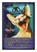 Aerosmith Autographed Signed A4 21cm x 29.7cm Photo Poster
