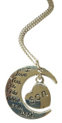 I Love You To The Moon And Back Necklace - Son
