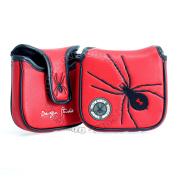 Spider High-MOI Mallet Putter Headcover, Heel Shaft, Red