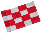 Backyard Putting Green Golf Flag - Chequered and Solid Golf Flag – MADE IN THE USA