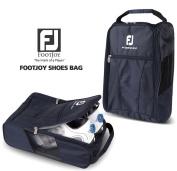 Genuine FOOTJOY Golf Shoes Bag Zipped Sports Bag Shoe Case - Navy Colour