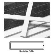 Somaca/CRL White 0.5cm x 1.9cm Muntin Bar - 3455804