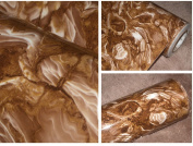 Coffe Marble Contact Paper Self Adhesive Film Vinyl Granite Shelf Liner for Covering Counter Top Kitchen Cabinet Backsplash