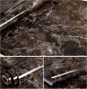 Faux Marble Contact Paper Self Adhesive Film Vinyl Granite Shelf Liner for Covering Counter Top Kitchen Cabinet Backsplash