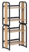 Calico Designs 51249 Modern Ashwood Stackable Bookshelf, Graphite Ashwood