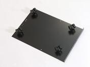 Bisley Caster Base for Steel Under Desk Multidrawer Cabinet, Black
