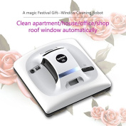 Cop Rose automatic professional window cleaning robot tools romba vacuums double side windows cleaner X6