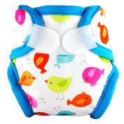 Tidy Tots Nappies Hassle Free TweetHeart Hassle Free Duckies Hook & Loop Nappy Cover NB