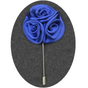 Distinct® Rose Brooches Pin for Men's Business Suits Fashion Women Men Wedding Boutonniere Flower Lapel Pin