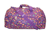 60cm Womens Girls Medium Weekend,Hospital, Maternity,Travel, Flight, Luggage, School, College Holdall, Sport Gym Bag