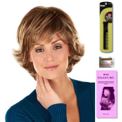 Gabby by Henry Margu, Wig Galaxy Hair Loss Booklet & Magic Wig Styling Comb/Metal Pick Combo (Bundle - 3 Items), Colour Chosen
