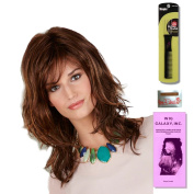 Bethany by Henry Margu, Wig Galaxy Hair Loss Booklet & Magic Wig Styling Comb/Metal Pick Combo (Bundle - 3 Items), Colour Chosen