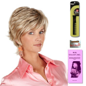 Tess by Henry Margu, Wig Galaxy Hair Loss Booklet & Magic Wig Styling Comb/Metal Pick Combo (Bundle - 3 Items), Colour Chosen