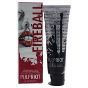 Pulp Riot Semi-Permanent Hair Colour for Unisex, Fireball Red, 120ml