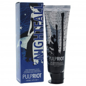 Pulp Riot Semi-Permanent Hair Colour for Unisex, Nightfall Blue, 120ml