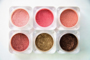 Naked Cosmetics Mica Power Pigments (6 Colours) Eye Shadow, Eye Liner, Lip Stick, Blush, Bronzer and Much More!