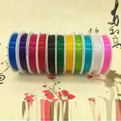 1pcs 0.6mm Colourful 8m Beading Round Stretch Cord Elastic Line Wire Cord String Thread for Necklace Jewellery accessories