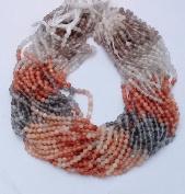"1 Strand Natural Multi Moonstone Smooth Round Balls Beads 3 mm , 14"" Long . , Supplies Gemstone"