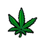 Pot Leaf, Licenced Original Artwork, Expertly Designed ENAMEL PIN - 2.5cm