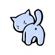 Evilkid Kitty, Licenced Original Artwork, Expertly Designed ENAMEL PIN - 2.5cm
