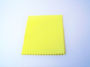 2 Small Mini Sunshine Polishing Cloths for Sterling Silver, Gold, Brass and Copper Jewellery Polishing Cloth