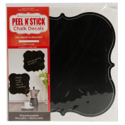 Die Cuts With A View Shield Shapes Peel & Stick Wall Art