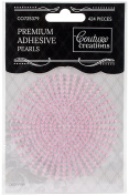 Couture Creations Self-Adhesive Pearls 2Mm 424/Pkg-Deep Pink