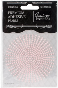 Couture Creations Self-Adhesive Pearls 2Mm 424/Pkg-Vintage Pink