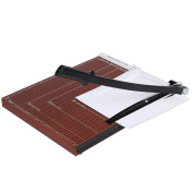 Fashine Wood 46cm x 38cm Paper Trimmer A2-B7 Guillotine Paper Cutter For Home Office-US Stock