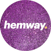 Hemway Rose Pink Premium Glitter Multi Purpose Dust Powder 100g / 100ml for use with Arts & Crafts Wine Glass Decoration Weddings Cards Flowers Cosmetic Face Eye Body Nails Skin Hair