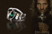 Gambulin Titanium Steel Lord of The Rings Aragorn's Ring US 10,Aragorn's Ring for Men