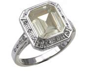 925 Silver Ladies Cubic Zirconia Ring