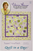 Quilt In A Day Paper Eleanor Burns Patterns-tossed Nine-Patch