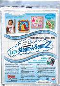 Lite Steam-A-Seam 2 Double Stick Fusible Web-23cm x 30cm 5/Pkg