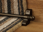 eXtreme® Jubilee Stair Rods ~ Bronze - Good Quality Hollow Stair Carpet Runner Bars Affordable Cheap and New