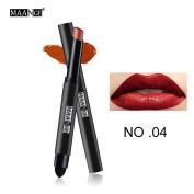 Long Lasting Lip Pen Waterproof Matte Lip Gloss Lip Liner 12 Colours Prettymenny