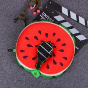 YRD TECH Fruit U-shaped Pillow Travel Pillow Nanoparticles Cushion Neck Travel Pillow Car Pillow