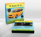 50 Shades of Sun Car Sun Shade for Side and Rear Window